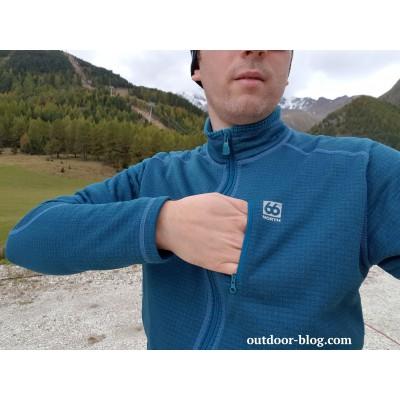 Bild 2 av Dennis till 66 North - Grettir Zipped Jacket - Fleecejacka