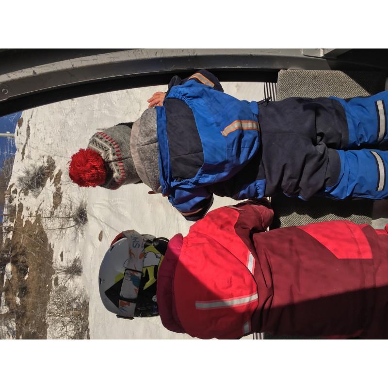 Bild 2 av Tamara till Bergans - Kid's Ruffen Insulated Jacket - Skidjacka
