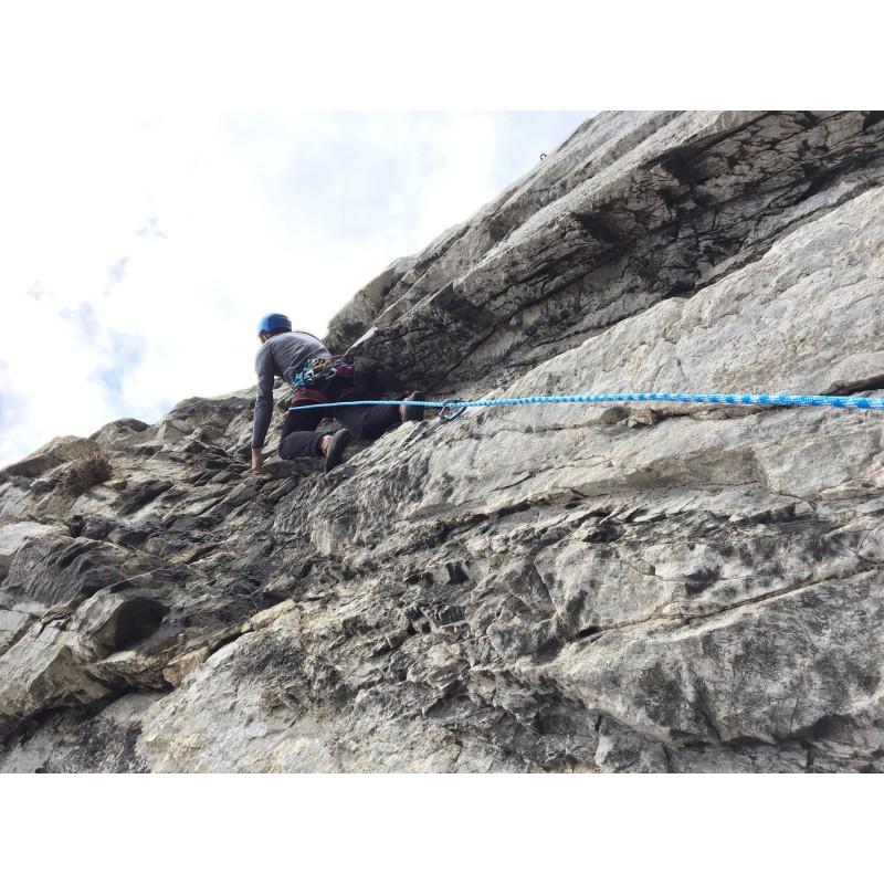 Bild 1 av Mike till Bergfreunde.de - Kletterseil-Seilsack-Set Zopa - Klätterset
