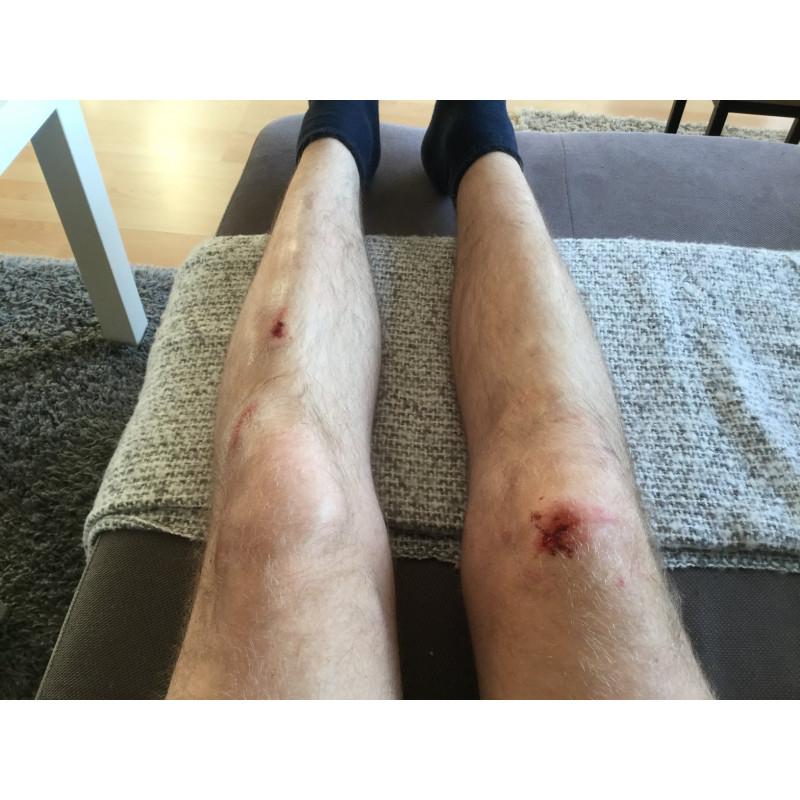 Bild 1 av Sebastian till O'Neal - Sinner Hybrid Knee Guard - Skydd