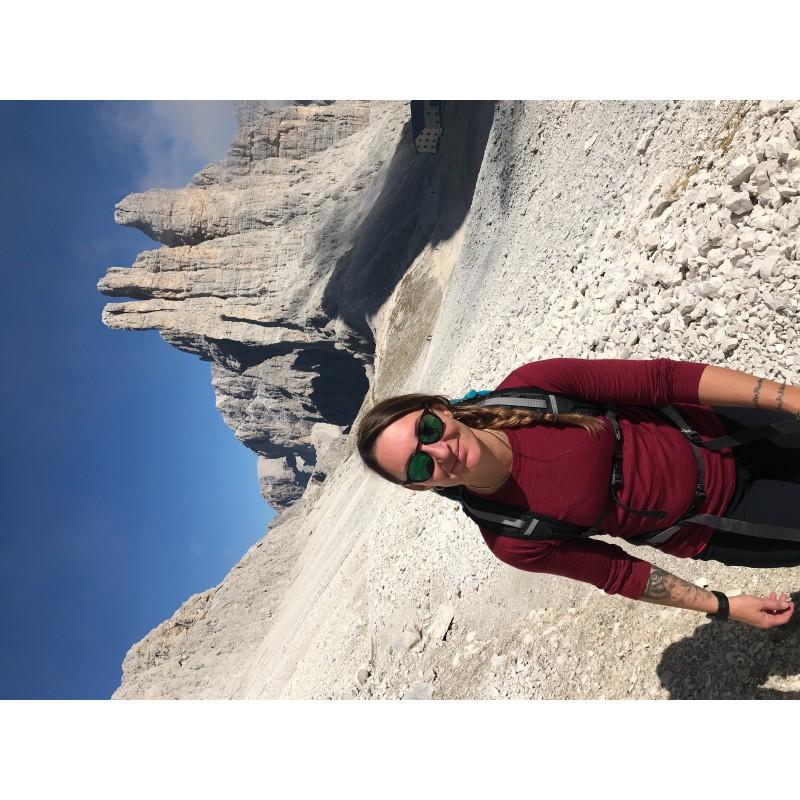 Bild 1 av Barbara till Ortovox - Women's Merino Ultra 105 Long Sleeve - Underkläder merinoull
